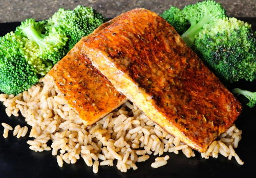 Lunch Grilled Salmon