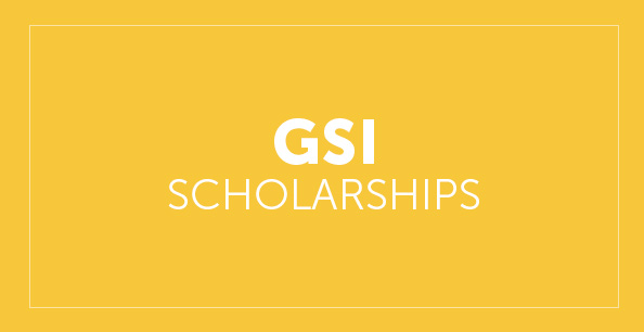 GSI Scholarship button