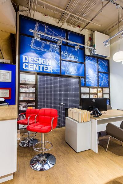 Design Center Flat Department Signage