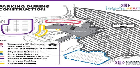 Image for Norman Regional HealthPlex to Open New Entrance, Parking Lots