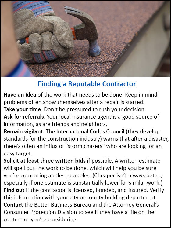 Tips for Finding a Reputable Contractor