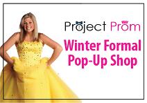 Winter Formal Pop-Up Shop