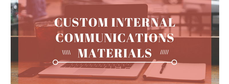 Image for Custom Booklet and Notebooks for Internal Communication