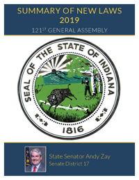 2019 Summary of New Laws - Sen. Zay