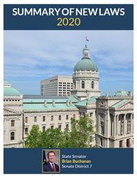 2020 Summary of New Laws - Sen. Buchanan