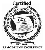 Logo for Certified Graduate Remodeler NAHB