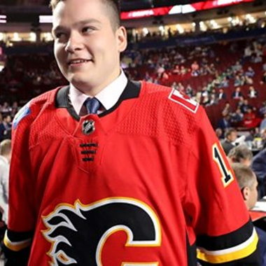 Image for Russian centre Nikolaev headlines Flames' haul on Day 2 of NHL Draft