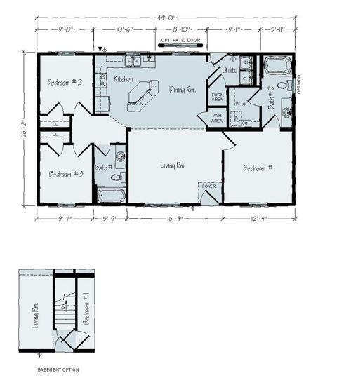 Floorplan of Madison