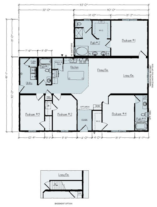 Floorplan of Norwood