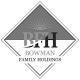Logo for Bowman Family Holdings
