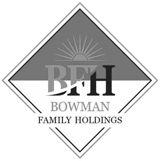 Logo for Bowman Family Holdings
