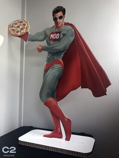 MOD Pizza Standee