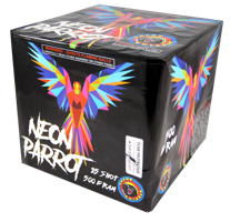 Image of Neon Parrot 25 Shot