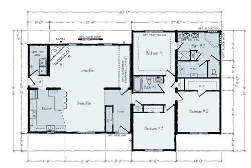 Floorplan of Aristocrat