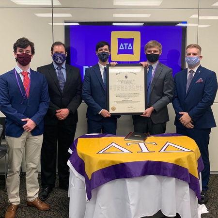 Theta Eta Chapter Installed at the University of South Carolina