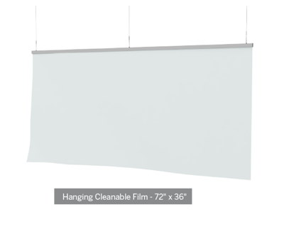 Clear Film Protective Barrier