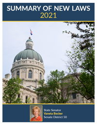 2021 Summary of New Laws - Sen. Becker