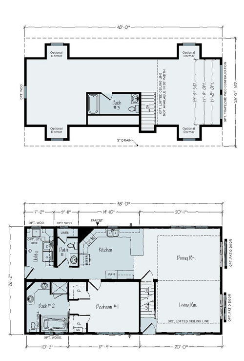 Floorplan of Aurora