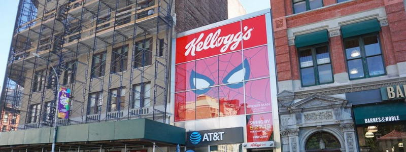 Image for Featured Project: Kellogg's NYC Welcomes Spider Man
