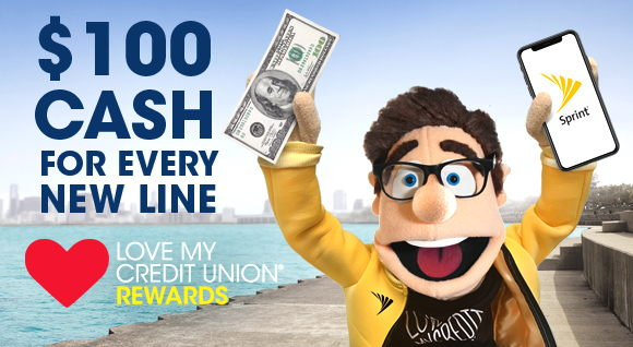 Image for Member Perk: Get $100 Cash Reward with Sprint
