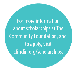 For more information about scholarship at The Community Foundation, and to apply, visit cfmin.org/scholarships.
