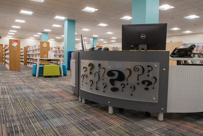Children's reference desk