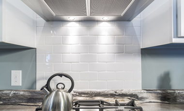 Subway Tile Ice White Close View