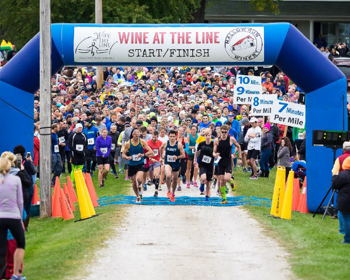 Wine at the Line at Mallow Run Winery 5 mile run and 5K run/walk