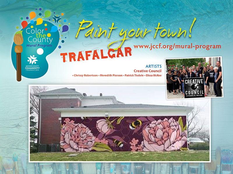 2019 Trafalgar mural design, artist