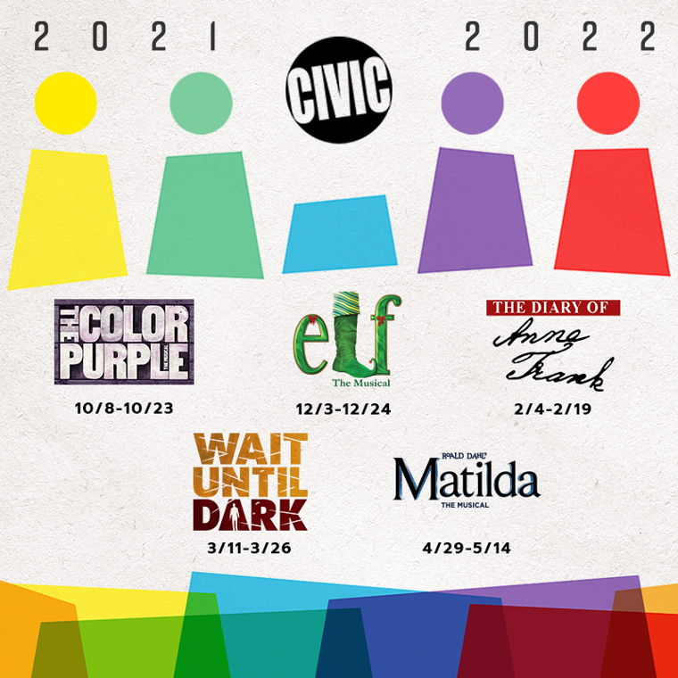 Image for Civic's 2021-2022 Season | Subscriptions On Sale Now