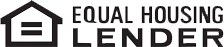 Logo for Equal Housing Lender