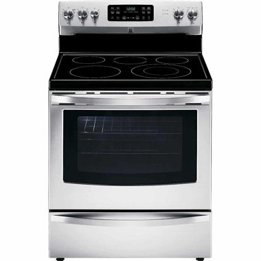 KENMORE 30″ 5.4 CU. FT. ELECTRIC RANGE- STAINLESS