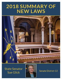2018 Summary of New Laws - Sen. Glick