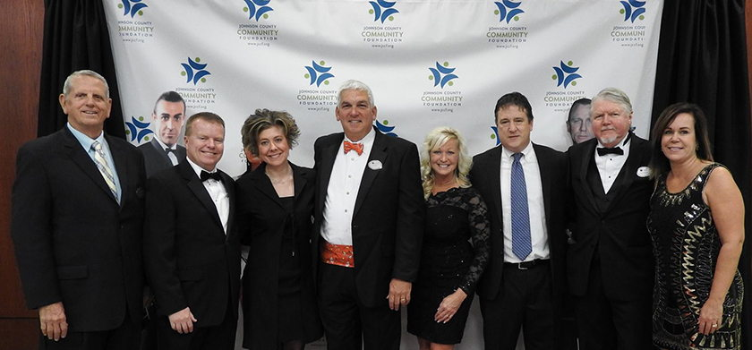 Board members at Monte Carlo Night
