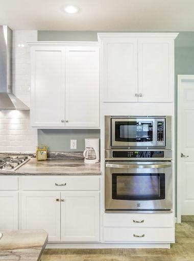 White Cabinets Vignette