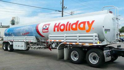 Tanker Truck Full Wrap Graphics