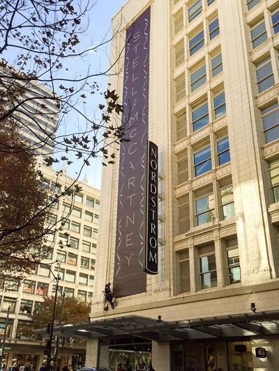 Nordstrom Exterior Building Banner