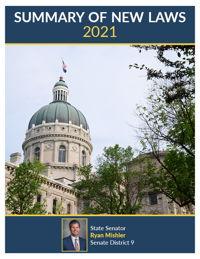 2021 Summary of New Laws - Sen. Mishler