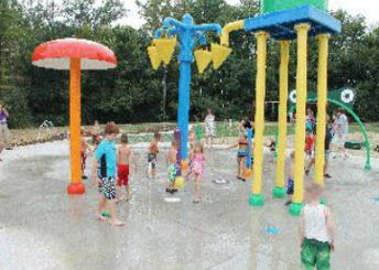 Splash Pad at City Center Park