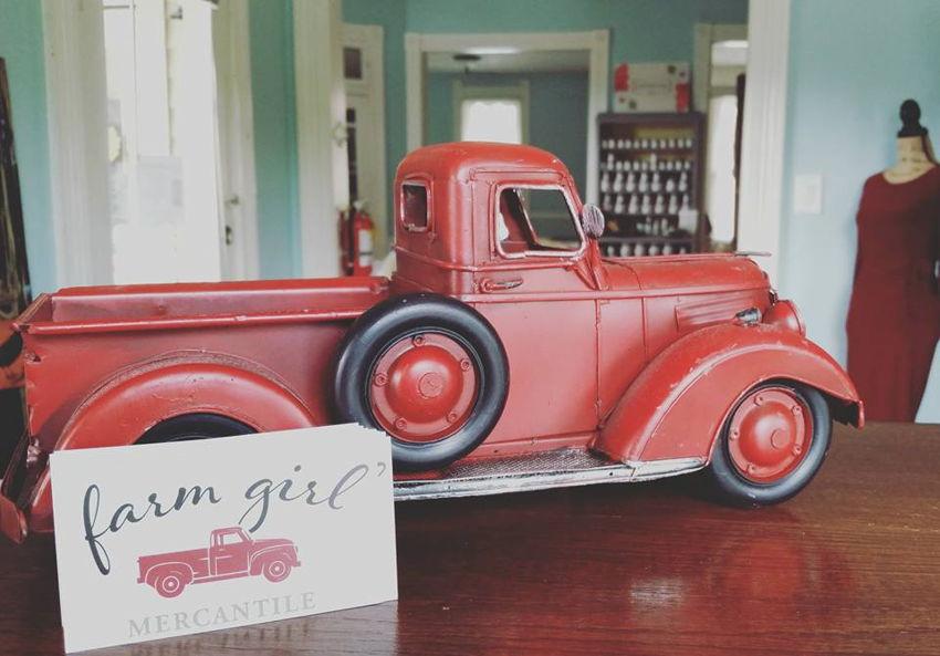 Farm Girl Mercantile antiques