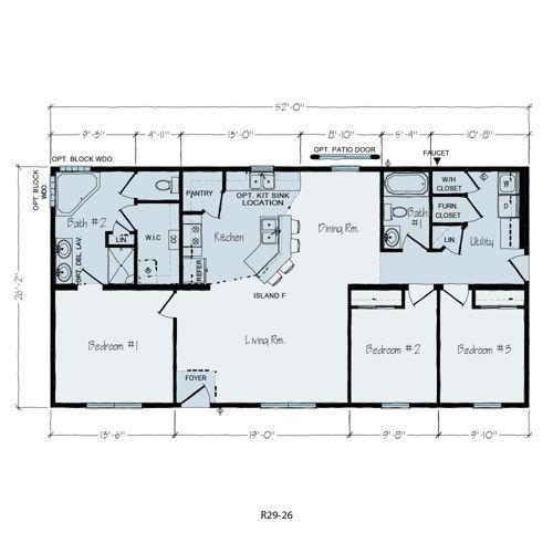 Floorplan of Heritage