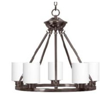DINING ROOM LIGHT- RUSTIC BRONZE