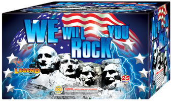 Image for We Will Rock You 25 Shots