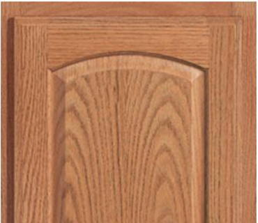SENECA RIDGE OAK AMARETTO CABINET