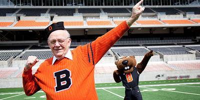OSU's First Mascot: Ken Austin
