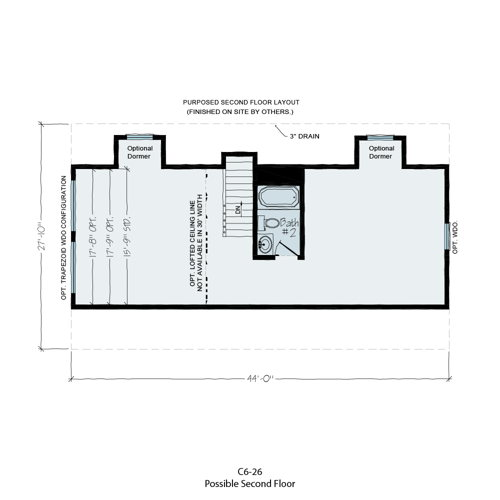 Floorplan of Norwegian Series