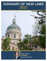 2021 Summary of New Laws - Sen. Raatz