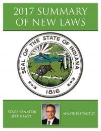 2017 Summary of New Laws - Sen. Raatz