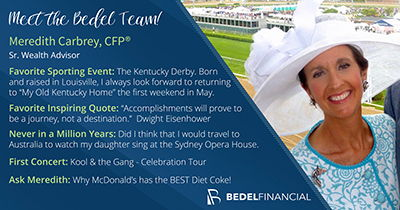 Meredith Carbrey, CFP, Meet the Bedel Team