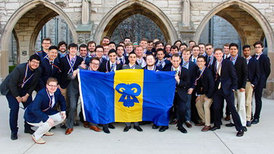 Image for Northwestern Chapter Reinstalled
